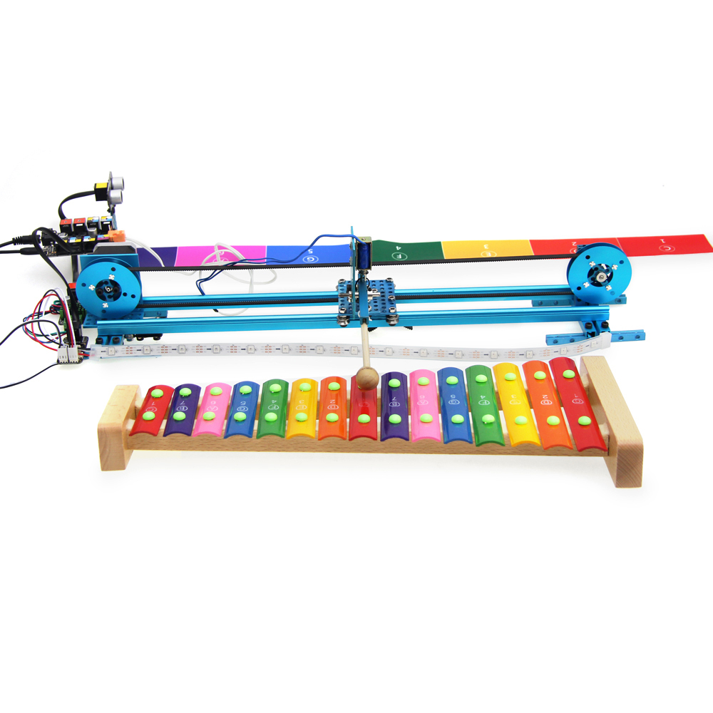 Music Robot Kit V2.0 (With Electronics) #290010