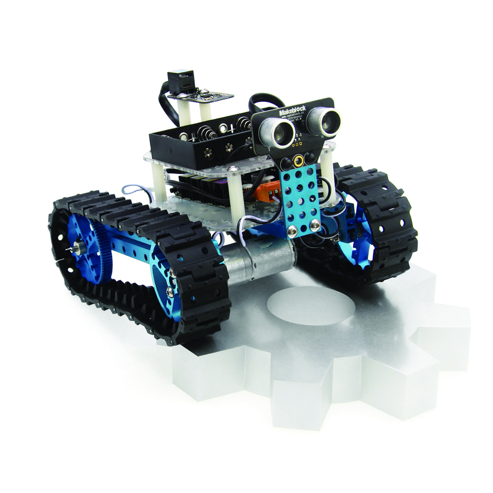Starter Robot Kit-Blue (Bluetooth Version) #290020