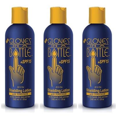 Gloves In A Bottle SPF15 3-pakning Fri frakt